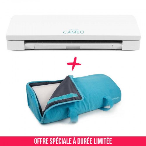 Pack Cameo 3 blanche avec sac de transport bleu