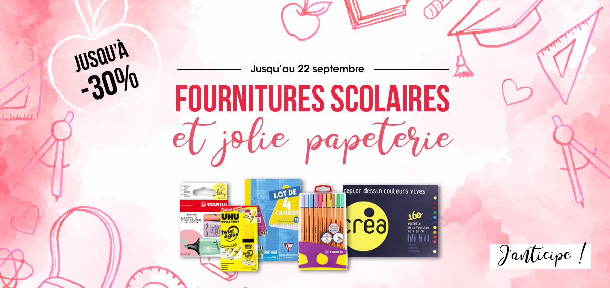 Rentrée des Classes Promotions