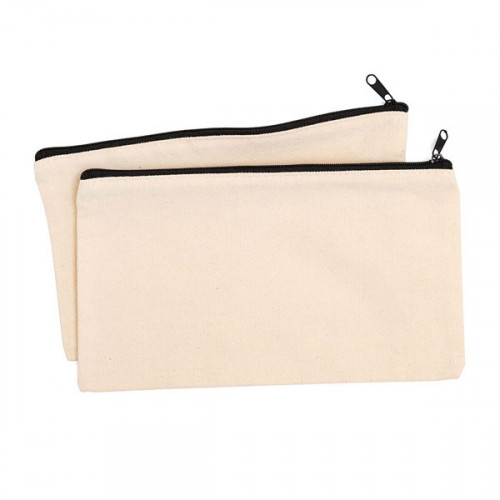Pochettes en tissu à customiser 2 pcs