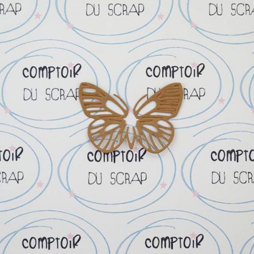 Die Papillon ajouré 7,4 x 5,2 cm