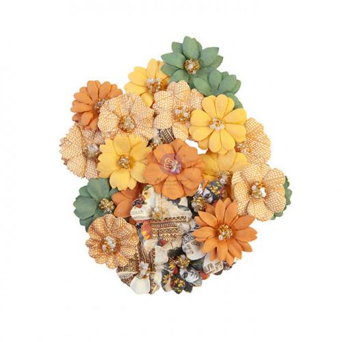 Fleur en papier Diamond Together 24 pcs