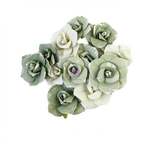 Fleur en papier Diamond Courage 12 pcs