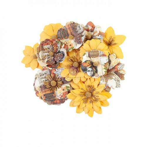 Fleur en papier Diamond Colorful Beauty 12 pcs