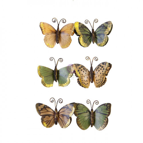 Papillon en papier Diamond Becoming 6 pcs