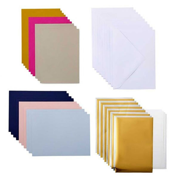Kit cartes et enveloppes Foil Cricut Joy