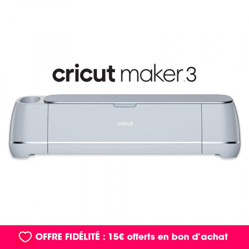 Machine de découpe électronique CRICUT Maker 3
