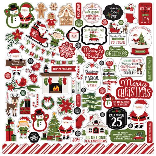 Christmas Magic Element Sticker