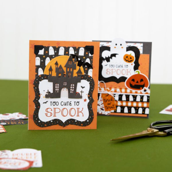 Halloween Party Papier imprimé 6x4 Journaling Cards
