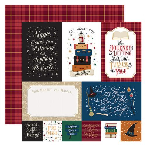 Witches & Wizards No.2 Papier imprimé Journaling Cards #1