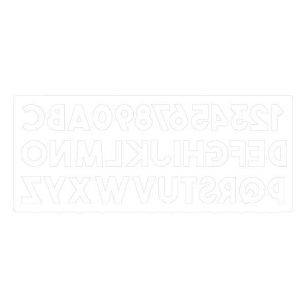 Bigz XL Die Alphabet épais