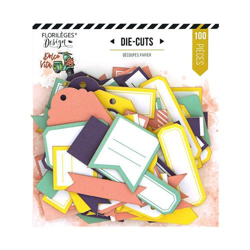 Dolce Vita Die cuts étiquettes