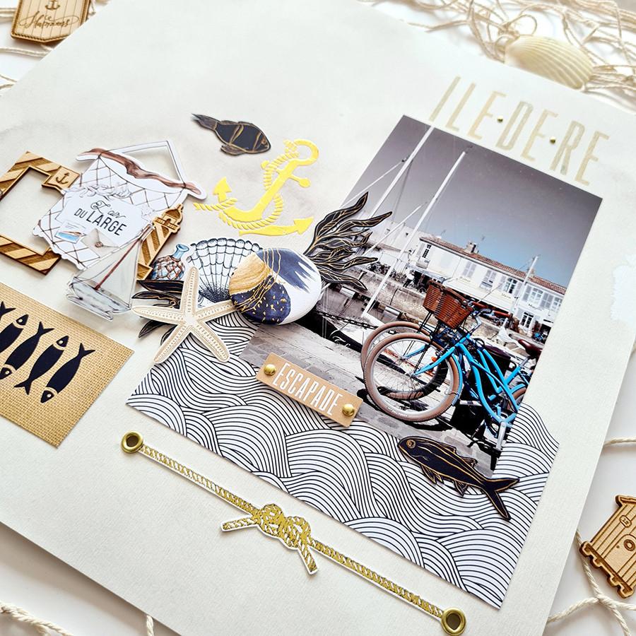 Die cuts imprimés Vue sur mer