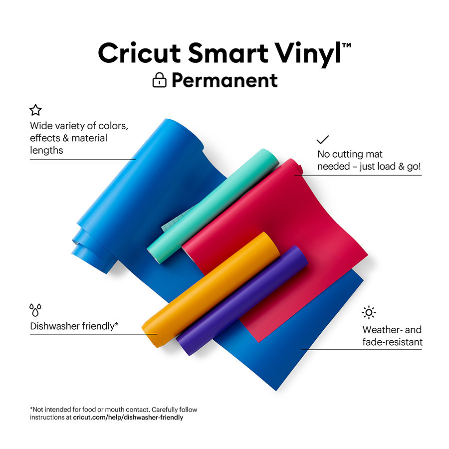 Smart Vinyl permanent 33 x 91 cm Bleu