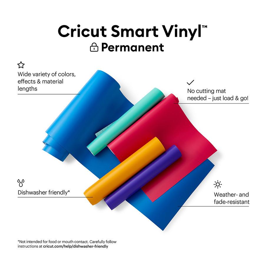 Smart Vinyl permanent 33 x 91 cm Rouge