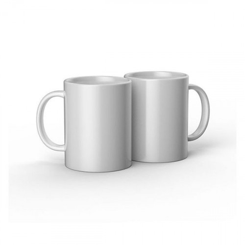 Mug en céramique à personnaliser 340 ml 2 pcs