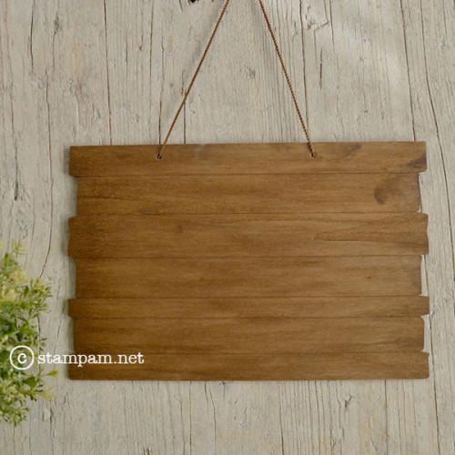 Base en bois à accrocher