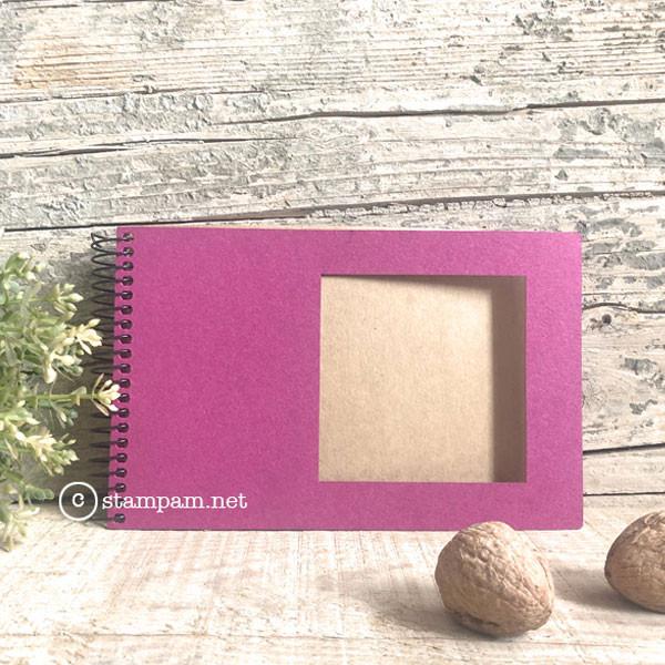 Album photo square 10 x 15 cm Rose