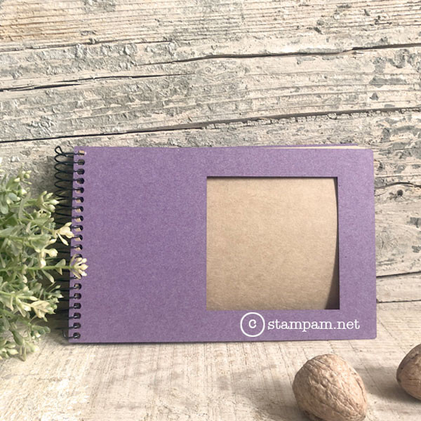 Album photo square 10 x 15 cm Violet