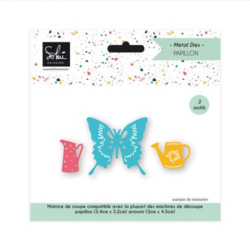 Dies set Papillon 3 pcs