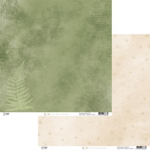 Papier 30,5 x 30,5 cm Esprit nature 4