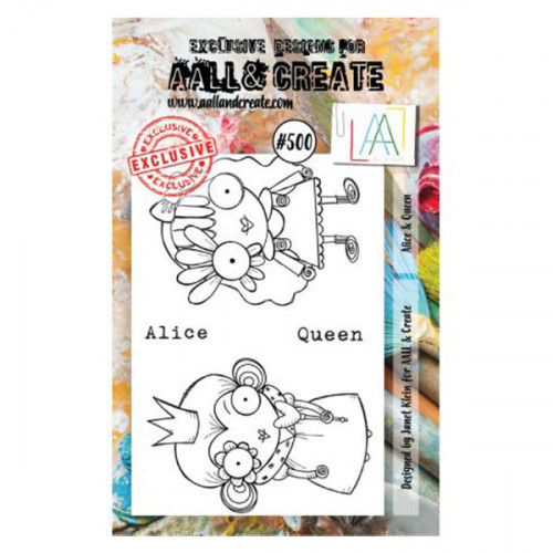 Tampons transparents Alice and Queen #500