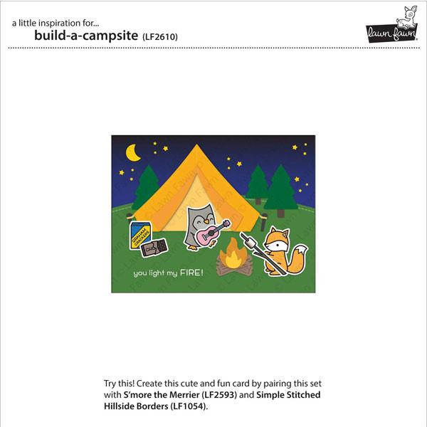 Dies set Camping 19 pcs
