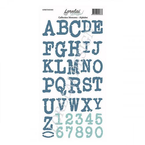 Memento Etiquettes à découper Alphabets