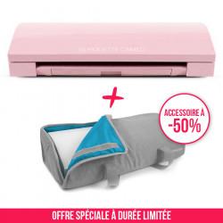 Pack Cameo 3 rose avec sac de transport gris