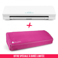 Pack Cameo 3 blanche et sa housse rose
