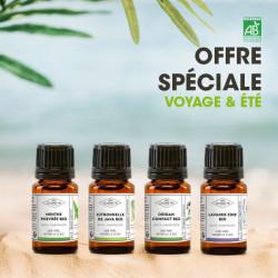 Offre spéciale Voyage et été - 4 huiles essentielles