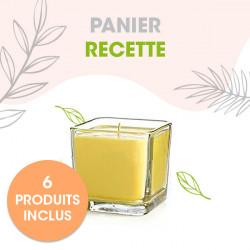 ** OFFRE SPECIALE -10% ** Bougie de massage relaxante aromathérapique et boisée