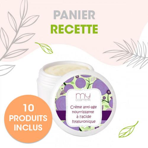 ** OFFRE SPECIALE -10% ** Crème anti-âge nourrissante à l'acide hyaluronique