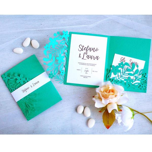 Thinlits Die Set Bordures florales #2 - 9 pcs