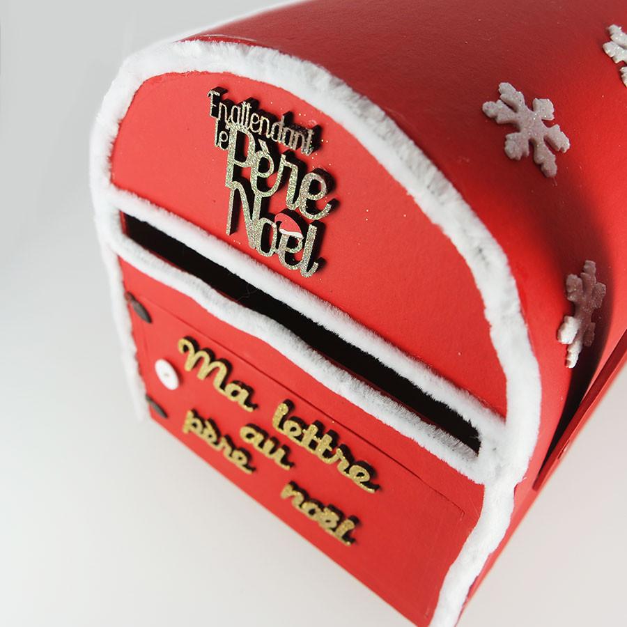 Support à décorer en papier mâché - Urne boîte aux lettres - 29 x 19 x 23 cm