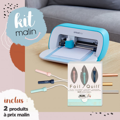 **BON PLAN** Machine Cricut Joy + Kit Foil 3 pointes