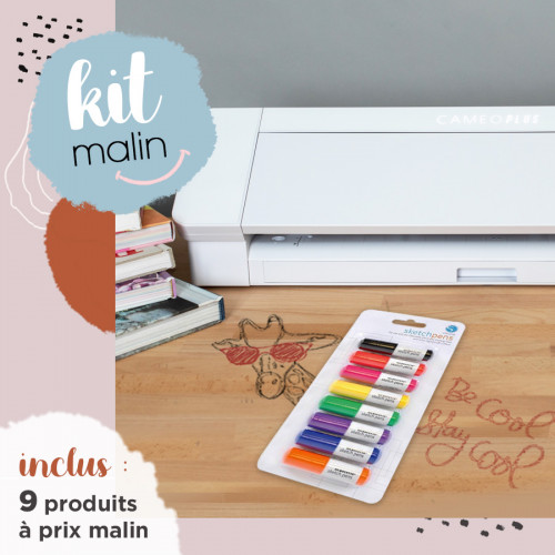 **BON PLAN** Machine Silhouette Cameo 4 PLUS + Stylos dessin Sketch Pen