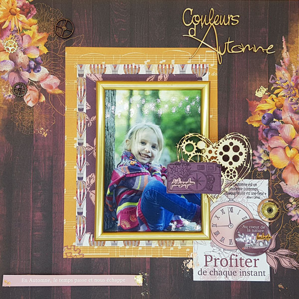 Miss Automne Kit de collection