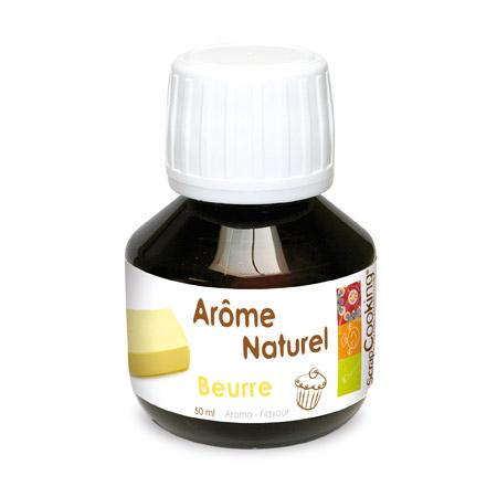 Arôme naturel - Beurre - 50 ml