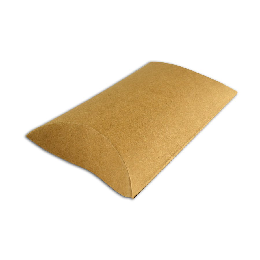 Boîtes - Pillow Boxes - kraft - 6 pcs