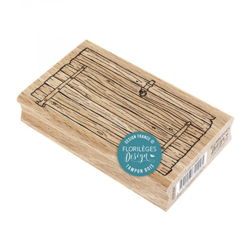 Tampon bois Porte en bois - 6 x 10 cm