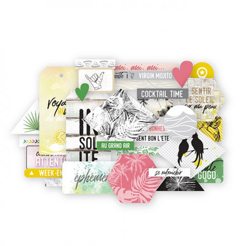 Long Courrier Die Cuts