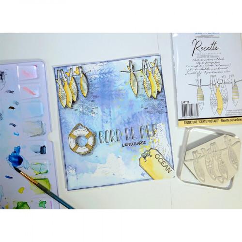 Tampons transparents Bord de mer