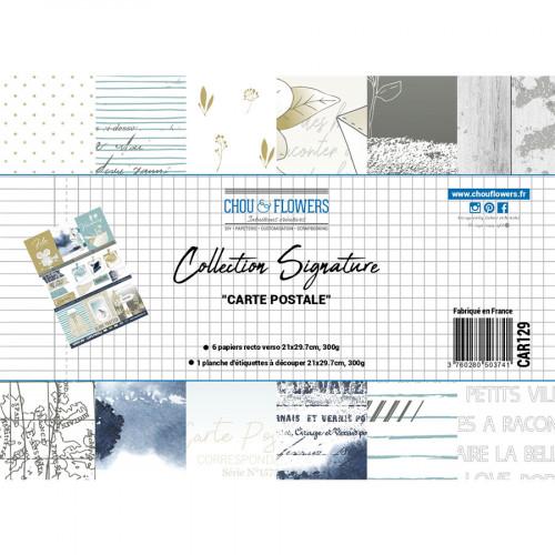 Carte Postale Papiers à motifs A4 - 400 g/m²