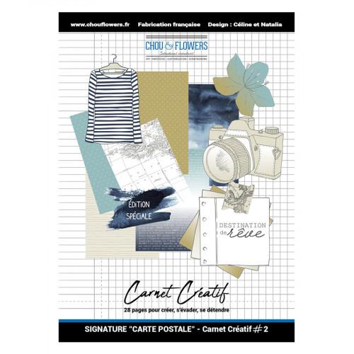 Carnet créatif #2 Carte Postale