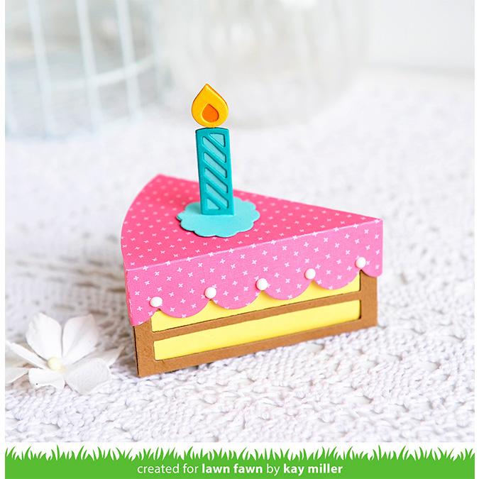 Die Set Boîte : Tranche de gâteau