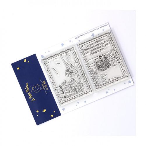 Tampons transparents Le Petit Prince Timbres : Le désert