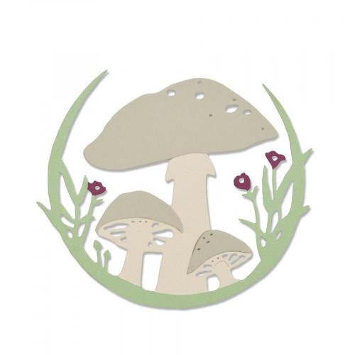 Thinlits Die Couronne de champignons