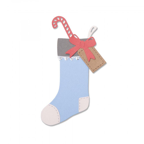Thinlits Die Set Chaussette de Noël 7 pcs