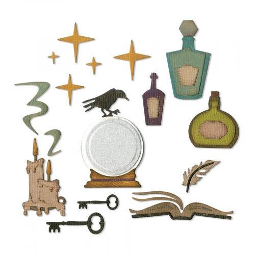 Thinlits Die Set Cabinet de Curiosité - 10 pcs