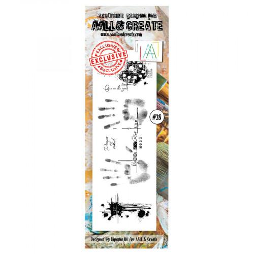 Tampons transparents #028 Mains